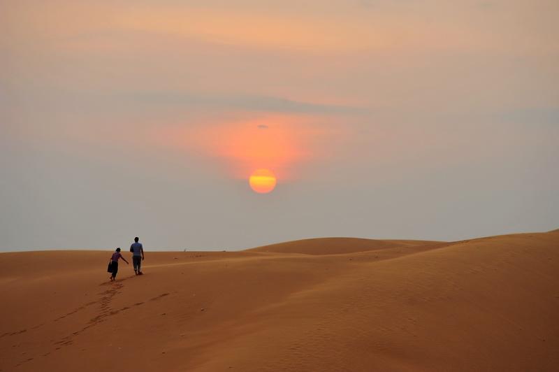 Sand dunes in Mui Ne - Phan Thiet