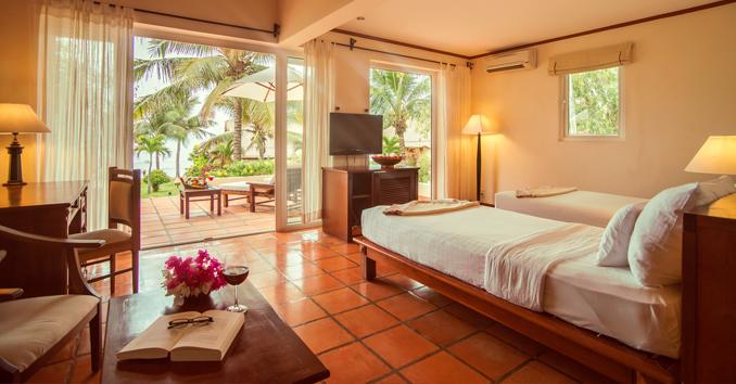 Guest room at Victoria Beach Resort & Spa Hoi An
