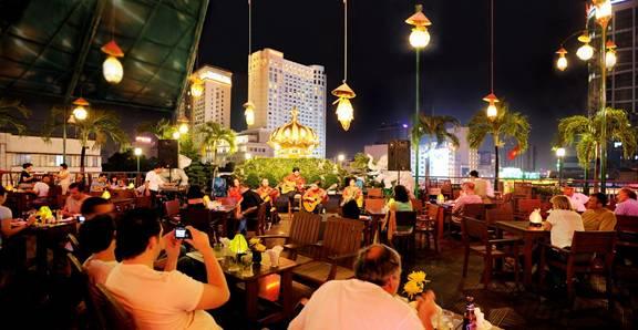 Rex Hotel Rooftop Bar, HCM City