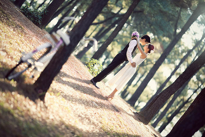 Wedding Photography at the pine forest jst outside Da Nang City