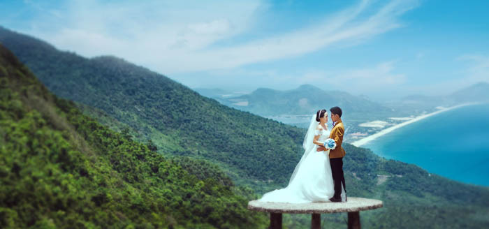Wedding Photography at Hai Van Pass