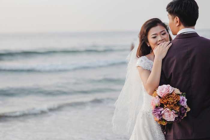 Wedding photography at Son Tra Peninsula