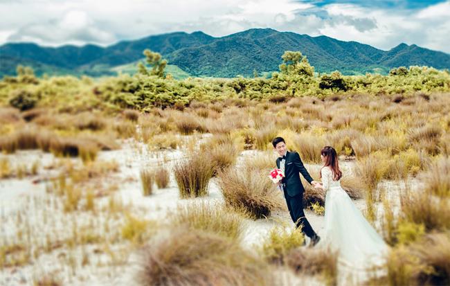 Wedding photography on Quan Land Island