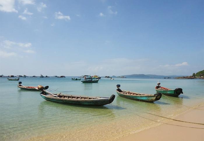 Bai Sao - White Sand Beach at Phu Quoc Island, Vietnam
