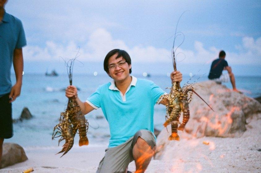 Binh Ba Island – the kingdom of lobsters